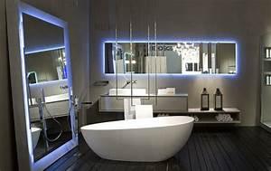 Miroir éclairé Salle De Bain : miroir salle de bain lumineux et clairage indirect en 50 ~ Zukunftsfamilie.com Idées de Décoration