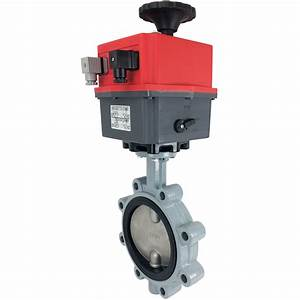 6 U2033 Electric Actuated Butterfly Valve  Lug  Epdm  24