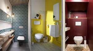 relooking toilettes decoration couleurs With quelle couleur pour les toilettes 9 conseils pour repeindre la cuisine un mur un meuble un