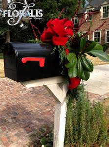 holiday decor by floralis mailbox christmas pinterest
