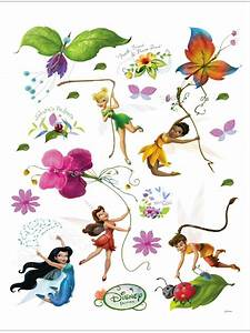 disney fairies maxi stickers muraux fee clochette With chambre bébé design avec livraison de fleurs pour anniversaire