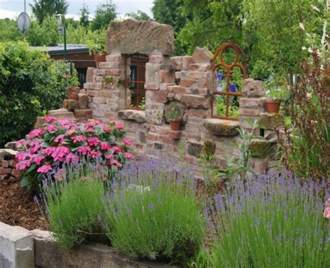 Antike Mauern Im Garten by Alte Ziegelsteinmauern Im Garten Alte Mauern Im Garten New