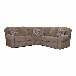Lane Furniture Megan 3 Piece Reclining Sectional In Logan