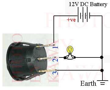 12 Volt 3 Way Switch Light Wiring Diagram by 8 Best Images Of Lighted 12v Switch Diagram On