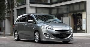 Mazda 5 Modification by Autoexe Mazda Mazda5 M5 New Premacy Cw Modification Car