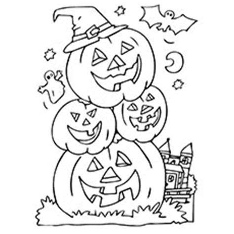 halloween scene coloring pages  getcoloringscom