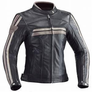 Blouson Moto Vintage Femme : blouson moto ixon heroes lady cuir noir femme homologu ce ~ Melissatoandfro.com Idées de Décoration