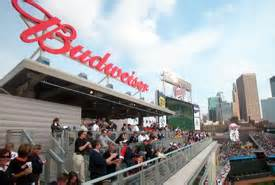 budweiser roof deck information minnesota