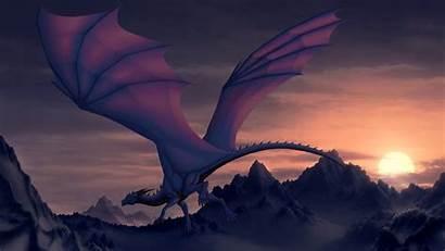 Dragon Desktop Purple Wallpapers Computer Backgrounds Background