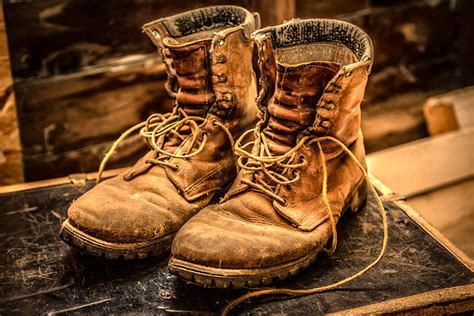 Homage to my old boots Gary Wium