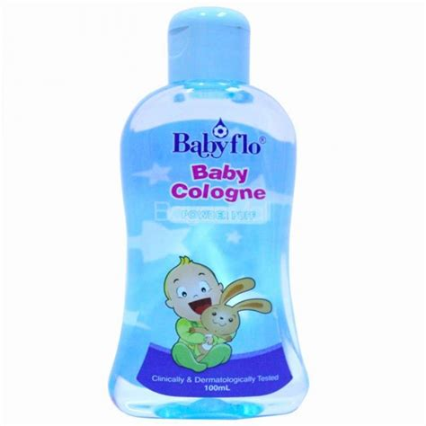 Baby Cologne babyflo baby cologne powder puff 100ml