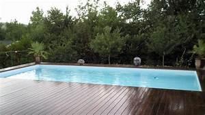 Piscine Enterrée Rectangulaire : piscine bois enterrable rectangulaire ~ Farleysfitness.com Idées de Décoration
