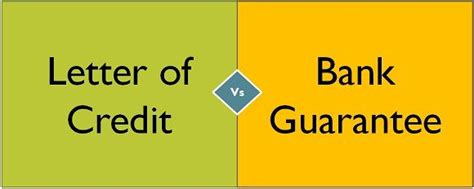 To present documents under an export letter of credit. Difference Between Letter of Credit and Bank Guarantee ...