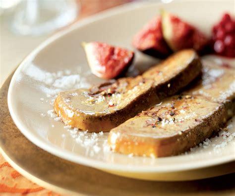 cuisiner le foie gras recette de foie gras poêlé et préparation