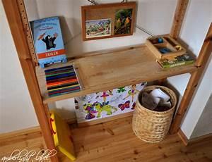 Ikea Regal Mit Schreibtisch : ikea hacker schreibtisch aus dem ivar regal amberlight ~ Watch28wear.com Haus und Dekorationen