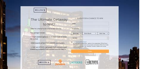 Enter to win The Ultimate NYC Getaway Sweepstakes (Ends 4 ...