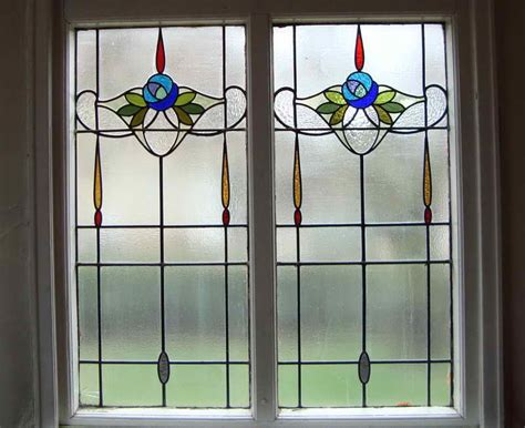 outstanding stained glass window film artscape with simple