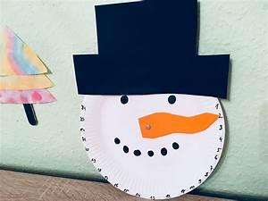 Adventskalender Für Freundin Basteln : adventskalender aus pappteller basteln f r weihnachten der familienblog f r kreative eltern ~ Watch28wear.com Haus und Dekorationen