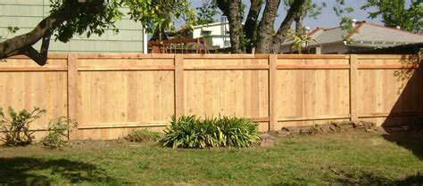 Types Of Wooden Fences Ideas
