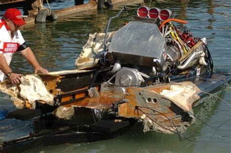 Drag Boat Fails by Salvage Whats Left Bad Boat Crashes