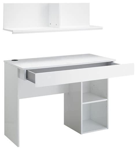 meuble sur bureau jasper bureau à tiroir avec sur meuble blanc