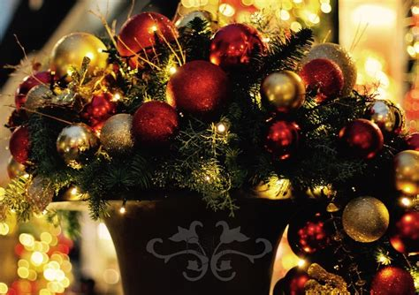 ideas  inspirations  luxury christmas decorations