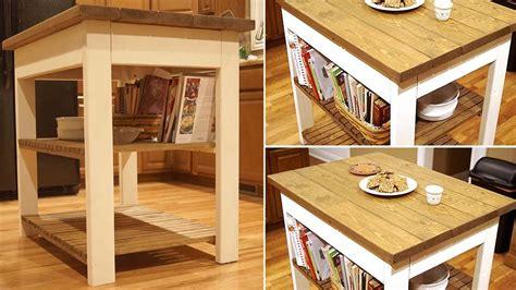 fabriquer un ilot de cuisine en bois 20 idées d îlots de cuisine à fabriquer