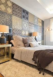Bedroom, With, Wallpaper, Accent, Wall, That, You, Must, Have, U2013, Homesfeed