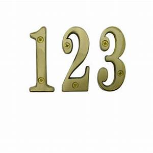 6quot solid brass numbers cr sbn6 us3 is new With solid brass house numbers and letters