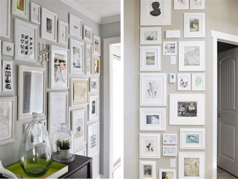 mur de cadres photos decoration design d int 233 rieur et id 233 es de meubles