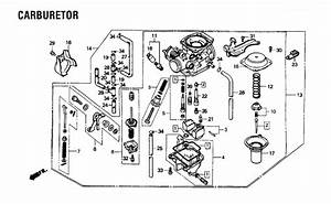 Honda Recon 250 Carb Diagram