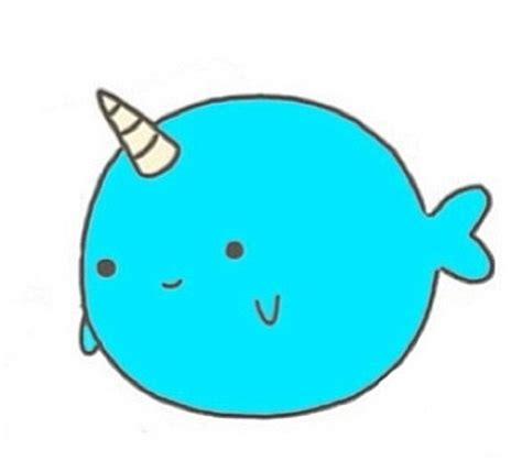 Narwhal Clipart Narwhal Clipart Mustache Drawing Pencil And In Color