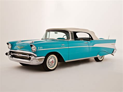 Fotos De Chevrolet Bel Air Convertible 1957