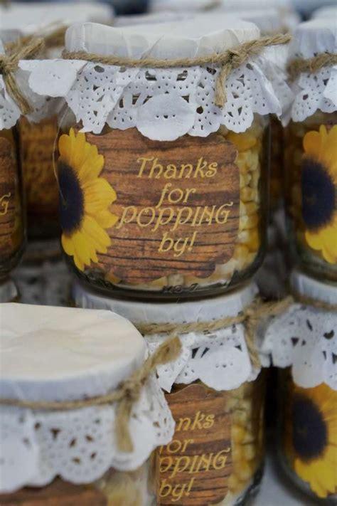 counrty sunflowers bridalwedding shower party ideas