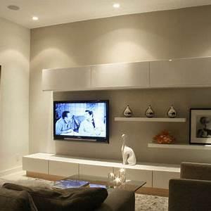 Tv Halterung Ikea : ikea besta units make your own tv feature walls great ~ Michelbontemps.com Haus und Dekorationen