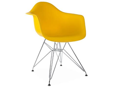 chaise jaune moutarde chaise dar jaune moutarde