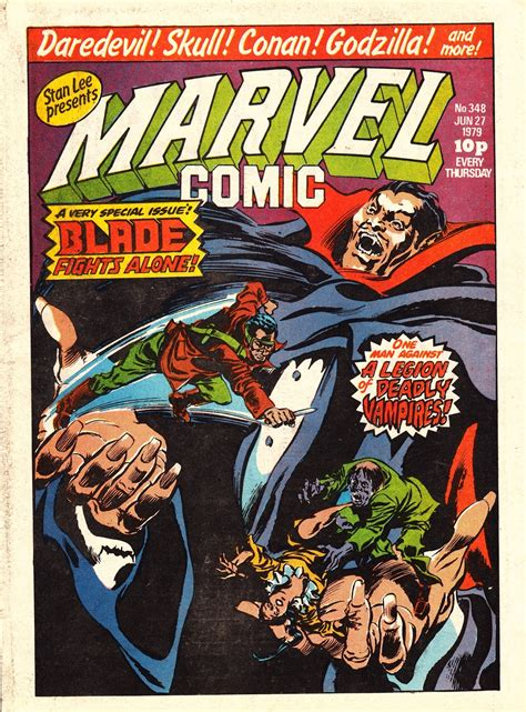 STARLOGGED - GEEK MEDIA AGAIN: 1979: MARVEL COMIC JUNE ...