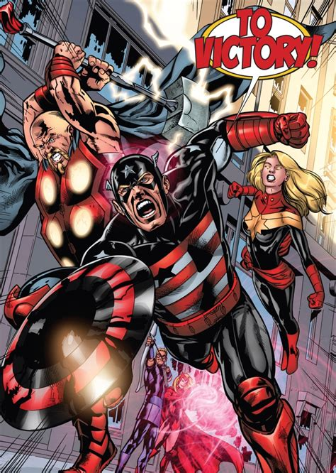 dark avengers earth 616 marvel database fandom