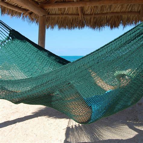 Guatemalan Hammocks by Caribbean Mayan Hammock Green