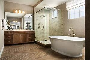 Luxurious, Soaking, Tub, And, Glass
