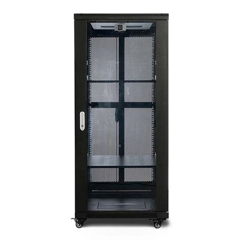 fully assembled dvd cabinet serveredge 27ru 600mm wide 800mm deep fully assembled