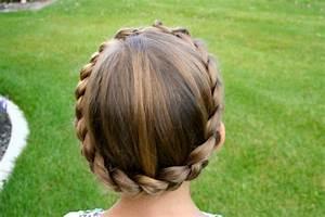 Braided Crown | Updo Hairstyles | Cute Girls Hairstyles