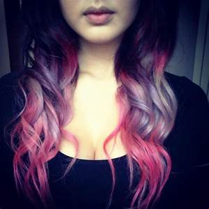 Purple pink pastel ombre hair | ombre hair | Pinterest ...