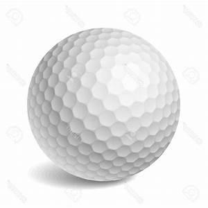 Top Golf Ball Vector Illustration Stock Cdr