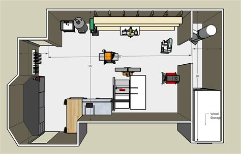 inspiration small workshop layout plans