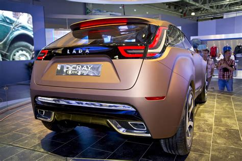 2018 Lada X Ray Concept World Premiere In Moscow Video