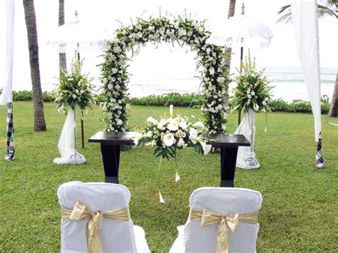 contoh dekorasi pernikahan sederhana murah ndik home