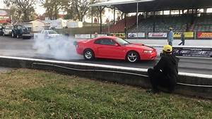 Turbo 2v Mustang runs 8.95 @159.27mph - YouTube