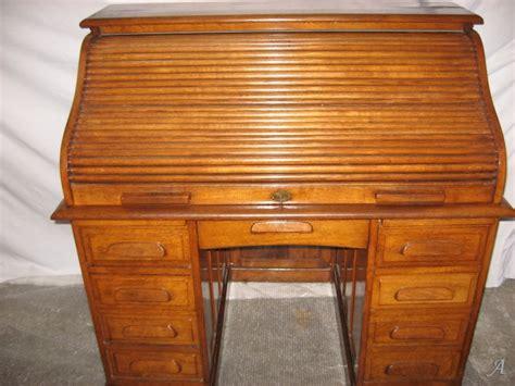 rideau bureau bureau américain ancien à rideau en chène artisans du
