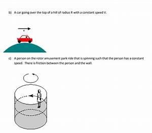 35 Circular Motion Free Body Diagram